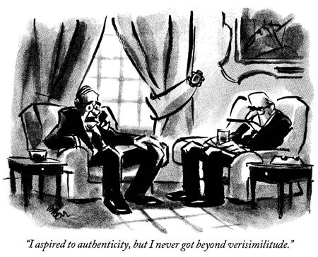 authenticity vs verisimilitude