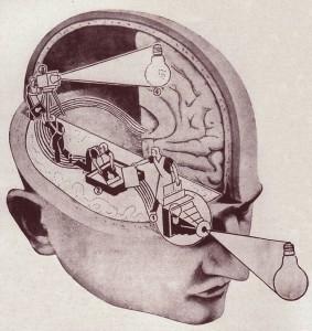 """Come funziona l'occhio, """"Il secolo illustrato"""", 1936"""